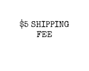 In Person Shipping Fee