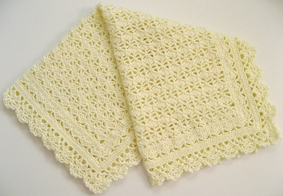 Crochet Heirloom Stitches : Crochet Pattern Lacy Heirloom Blanket/Afghan by carolrosa on Etsy