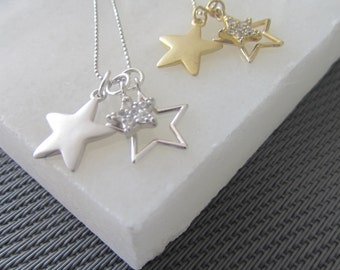 Lucky Stars Personalized Necklace