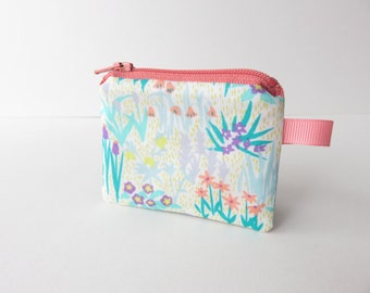 Liberty Lawn 'April Showers B' Tiny coin purse