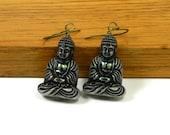 Meditating Buddha Earrings