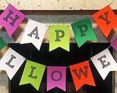 Happy Halloween Paper Banner
