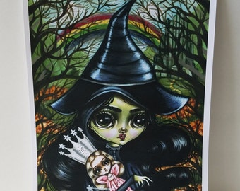 The Age of Elphaba 8x10 Art Print-LIMITED EDITION 9/25