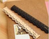 Chaleur Mercerie de France Wooden Lace Pocket Ruler