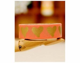 Hearts TreeInArt washi masking tape