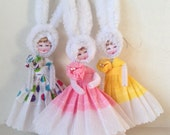 Chenille Easter Bunny Girl PDF Instructions