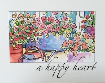 Happy Flowers ~ a happy heart