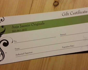 Gift Certificate for a Custom Made Upcycled Sweater Coat