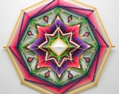 Finding Joy, a 24 inch, Ojo de Dios, by Inga Savage
