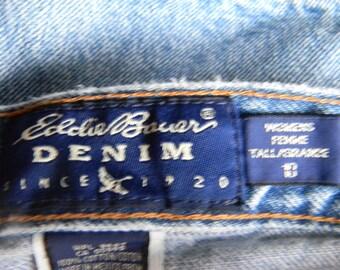 Vintage Eddie Bauer denim womens jeans