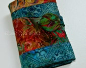 Colorful Batik Large Spill Proof Knitpicks Interchangeable Circular or DPN Knitting Needle Case Organizer Personalized Option