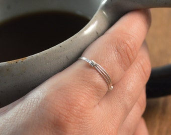 Stackable Ring - 925 Sterling Silver