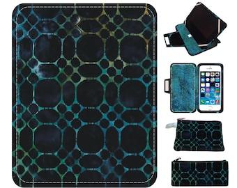 Teal Indigo ipad air 2 case| ipad mini 4 case| ipad mini case| ipad air case| kindle paperwhite cover| ipad mini 2 case| kindle paperwhite
