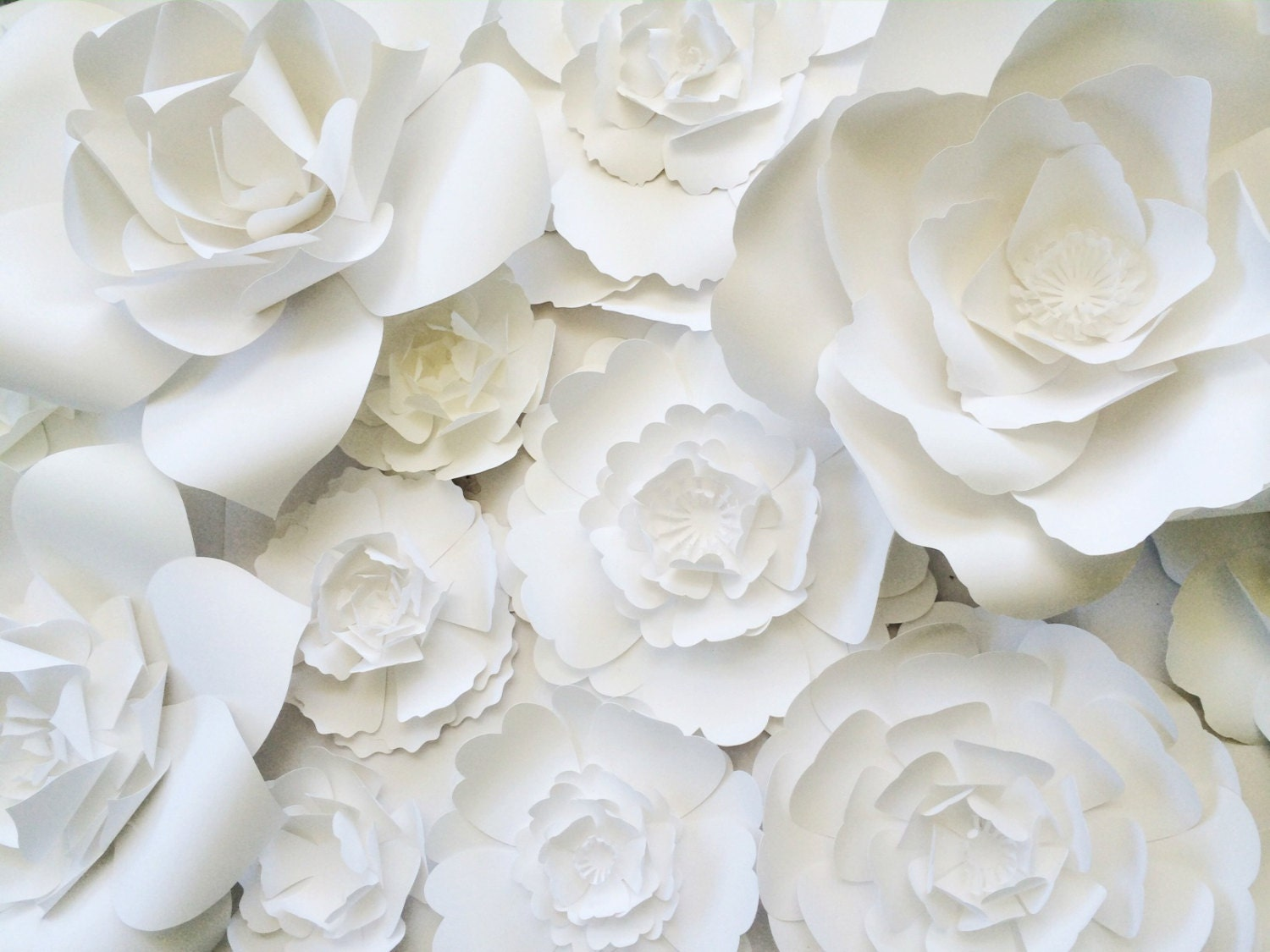 Paper flower wall decor large paper flower wall backdrop zoom amipublicfo Images