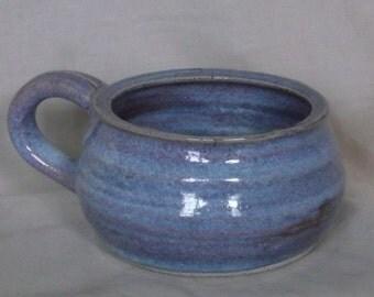 Medium Blue Soup Bowl