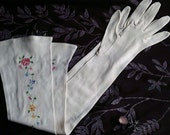 Free Shipping~Extra Long White Glove, Women's Fashion Gloves, Wedding, Bridal, Romance