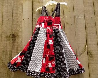 Bama Stripework dress   size 4T