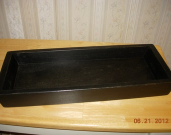 Primitive Wood Candle / Toilet Cover Tray - Home Decor - Made to Order - Color choice