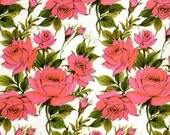 Vintage Wrapping Paper - Pink Roses - All Occasions Giftwrap