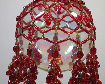 86. Beaded Ornament Cover