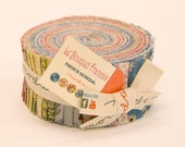 Le Bouquet Francais by French General for Moda  - 100% Cotton - 40 Strip Jelly Roll
