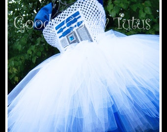 THE DROID R2D2 Inspired Tutu Dress