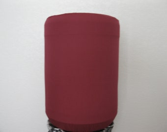 Water Dispenser Cover-Burgundy Red