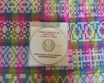 Summer & Winter for the Rigid Heddle:  A Tutorial in Towels PDF on DVD