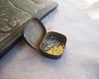 Set of vintage 27 engraving needles