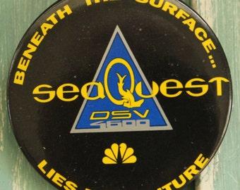 SeaQuest DSV TV Series Fan Button