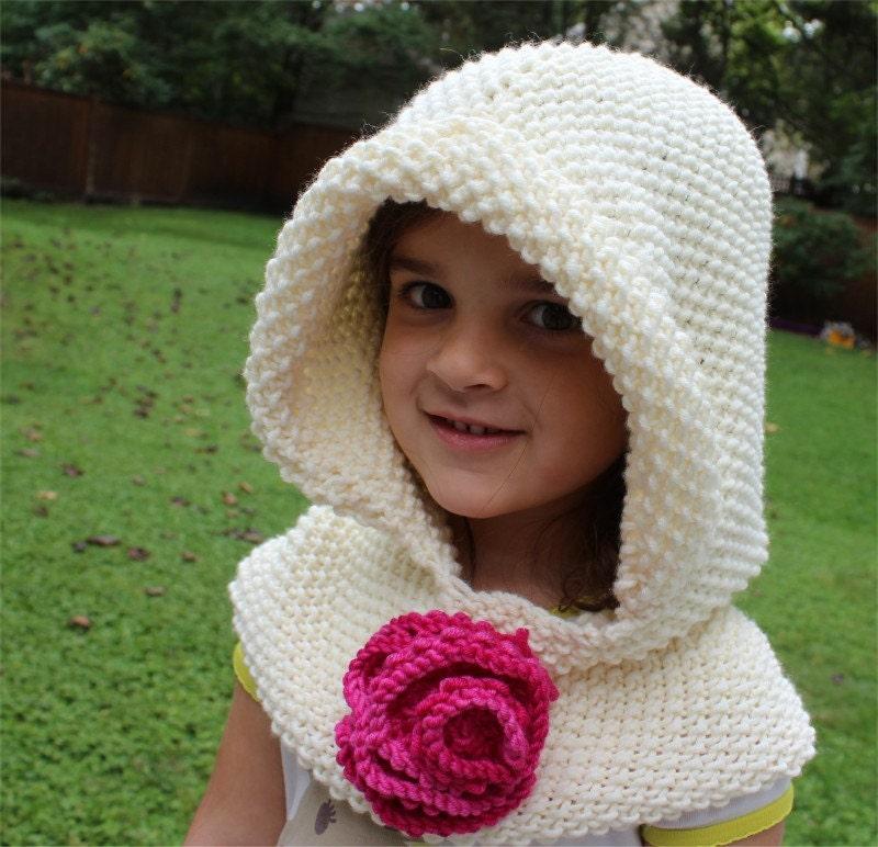 Hooded Cowl Knitting Pattern Ravelry : KNITTING PATTERN Hooded Cowl PDF