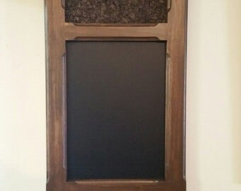 Mark's Three drawer magnetic chalkboard with cork
