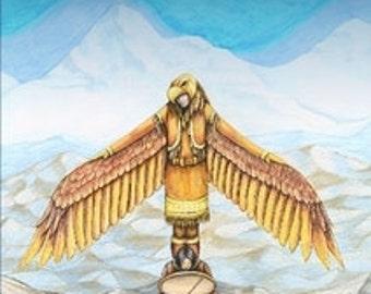 EAGLE DRUMS - Alaska Native mythos - Origin story of 'Kivgiq' The Messenger Feast