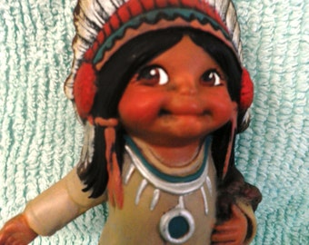 Chief Two Feathers I-75 fired ceramics