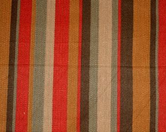 D2916 Savanna Red Earth Stripe Fabric
