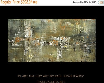17% OFF /ONE WEEK Only/ Free Shipping The Impact abstract knife by Paul Juszkiewicz warm gray and  white