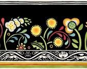 Bohemia Floral Stripe - Custom Order