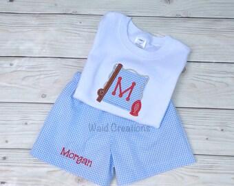 Baby boy swimsuit, baby boy monogram bathing suit Baby Toddler boy gingham swimsuit WITH matching shirt