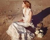 Persephone Gown // get conscious, conscious clothing, wedding gown, hemp silk, eco