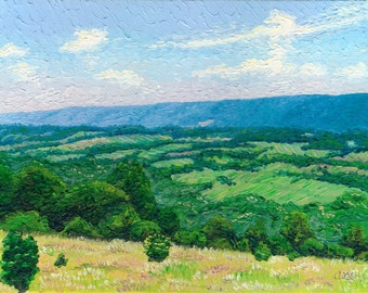 Tennessee Valley II, 9 x 12 in., giclee print