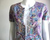 70s vtg handmade dress