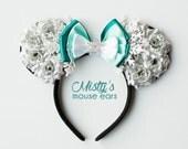 Inspired Elsa Rose Mouse Ears