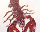 Watercolor Print Maine Re...