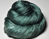 Lost in the marshes of madness OOAK - Silk Lace Yarn