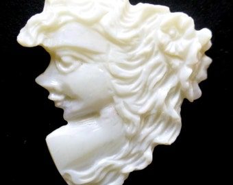 Opal Cabochon Lady Face Cameo Carving Jelly Australian Boulder Rare Solid Coober Pedy AAA Quality Hand Carved One of a Kind Designer Jewlery