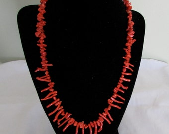 Mediterranean branch red coral