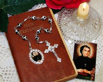 St. Marguerite d'Youville Unbreakable Catholic Chaplet - Patron Saint of Widows, Against Adultery, Death of Children & Difficult Marriages