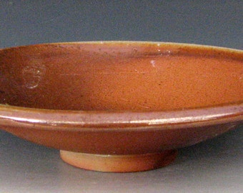 WOOD-FIRED BOWL - Small Anagama Bowl - Small Stoneware Bowl - Wood Ash Glazed Bowl - Wood-Fired Pottery