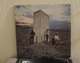 Reduced Price - The Who vinyl - Who's Next  - Original - Vintage VInyl Lp in NM- Condition