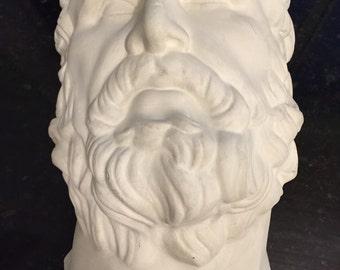 ZEUS BUST FIGURINE, Greek Mythology